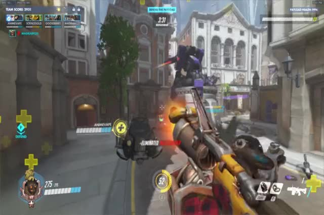 Watch and share Overwatch GIFs by magikarpzes on Gfycat