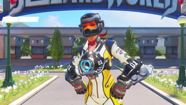 Watch and share Overwatch GIFs and Tracer GIFs by Ceeky shit on Gfycat