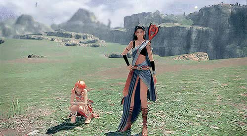 Watch and share Oerba Dia Vanille GIFs and Final Fantasy 13 GIFs on Gfycat
