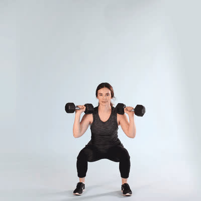 exercise, healthline, work out, 400x400-Modified Thruster GIFs