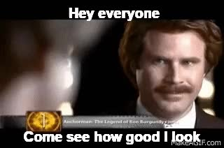 Watch ron-burgundy GIF on Gfycat. Discover more will ferrell GIFs on Gfycat