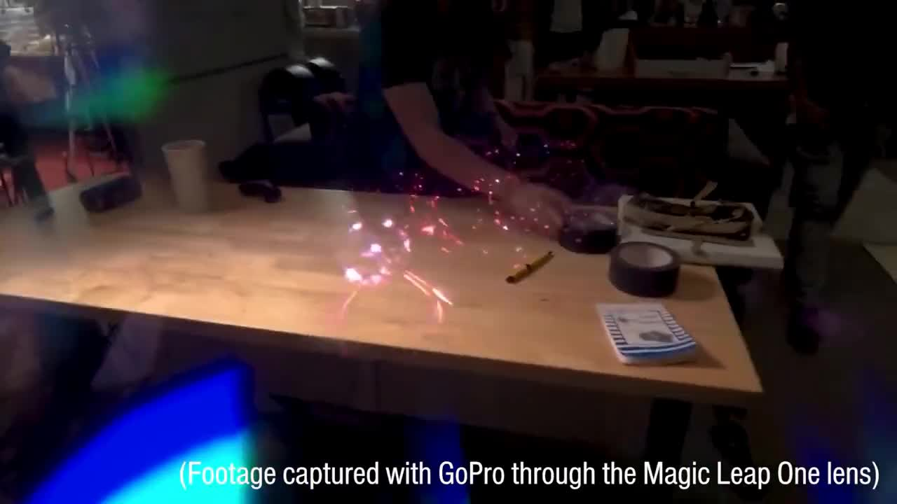 GOGGLES, Oculus, TESTED, Treadmill, VR, hands-on, headset, htc, infinadeck, lightpack, lightwave, pixel, review, steamvr, tech, test, testedcom, unboxing, waveguide, whale, Tested: Magic Leap One Augmented Reality Review! GIFs
