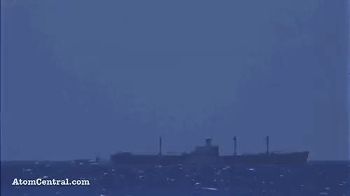 Watch A nuclear bomb set off under water GIF on Gfycat. Discover more awesome, explosion, gif, nuclear bomb GIFs on Gfycat