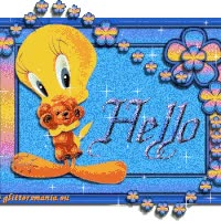 Watch and share Hello animated stickers on Gfycat