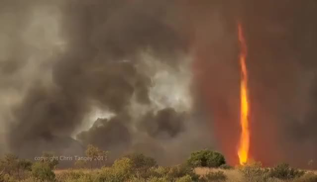 "Watch and share ""Firenado"" Australia In HD- At Actual Speed GIFs on Gfycat"