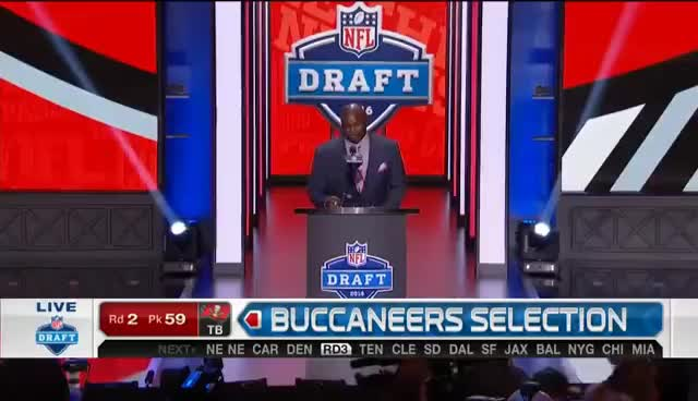 Buccaneers Draft A Kicker in Round 2 | 2016 NFL Draft GIFs