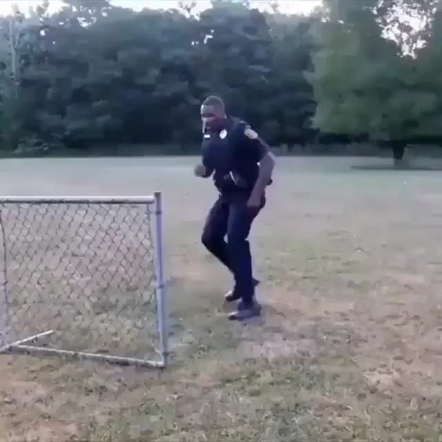 Different ways to jump a fence.