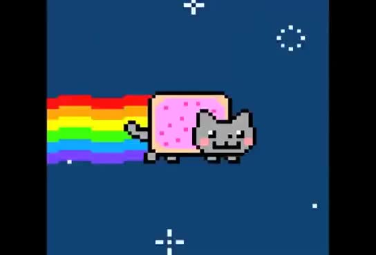 Watch Nyan cat GIF on Gfycat. Discover more Awesome, cat, funny, nyan GIFs on Gfycat