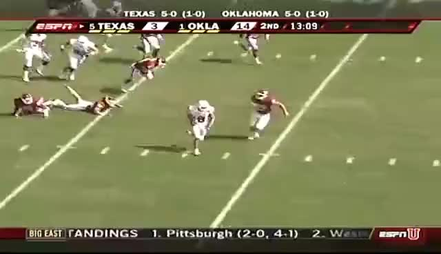 Watch and share Jordan Shipley Kickoff Return Against O.u. 2008 GIFs on Gfycat