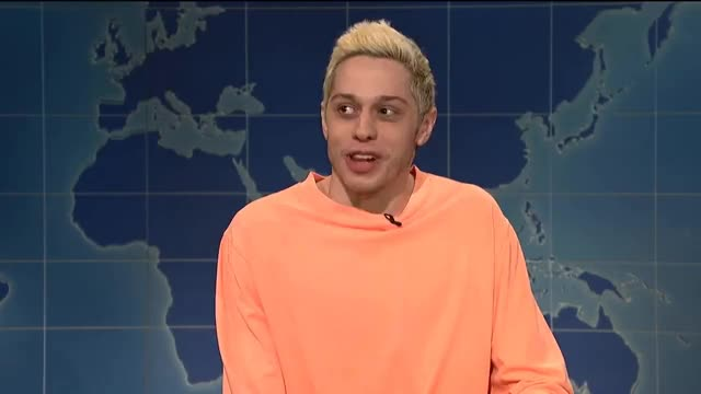 Watch this pete davidson GIF on Gfycat. Discover more Live, NBC, SNL, actor, awkwafina, comedian, comedy, funny, guest, hilarious, host, impersonation, improv, laugh, live, musician, nbc, pockies, rapper, s44, s44e1, sketch, snl GIFs on Gfycat