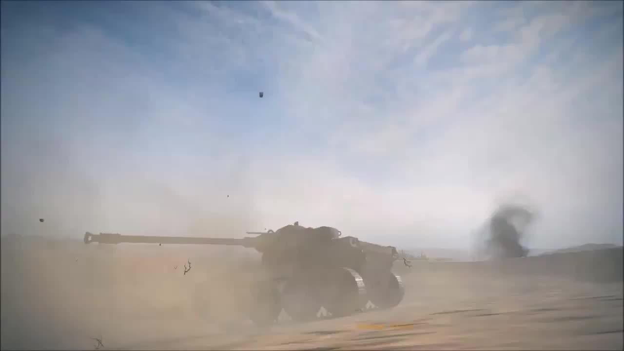 american, light tank, t71, Illegal U Turn GIFs