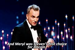 Watch meryl streep at oscars GIF on Gfycat. Discover more related GIFs on Gfycat