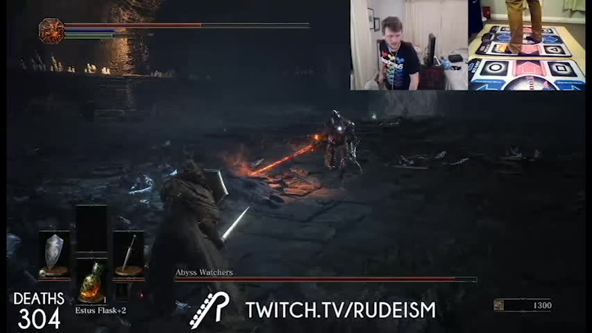 The Crazy Guy Who Got To 100 In Wo W On Dance Pads Is Now Playing Dark  Souls 3 Hes Already Five Bosses In And Hes Never Played A Souls Before  Reddit
