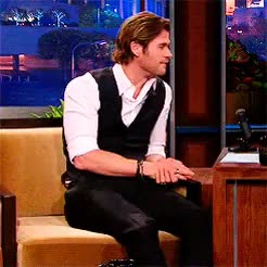 Watch and share Chris Hemsworth GIFs and Rchrisevans GIFs on Gfycat
