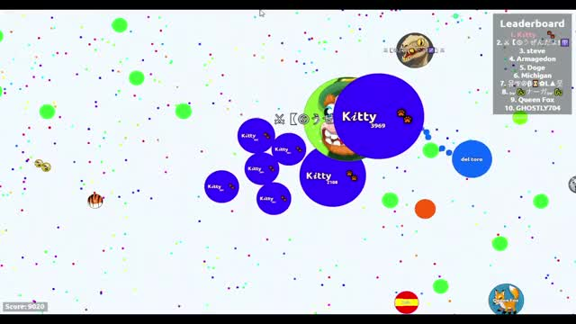 Watch and share Agario GIFs by Kitty on Gfycat