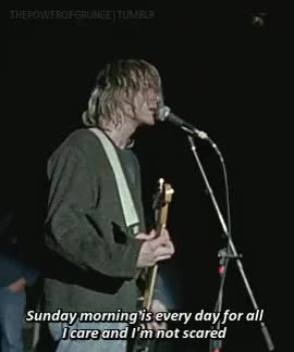 Watch and share Kurt Cobain GIFs and Nevermind GIFs on Gfycat