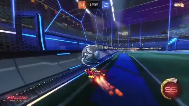 Watch and share Air Dribble Dunk RL GIFs by Dylan John on Gfycat