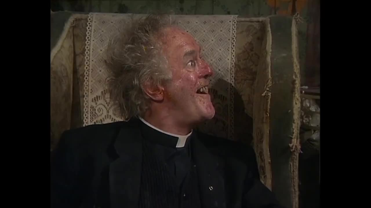 All Tags, Award, Dougal, Lent, Sitcom, Ted, alcohol, cigarettes, clips, comedy, dancing, drink, episode, father, full, funny, guinness, priests, rollerblading, rollersakting, Giving Up Booze, Cigarettes & Rollerblading | Father Ted | Available On All 4 GIFs