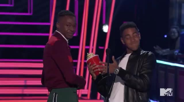 Watch this mtv awards GIF by GIF Reactions (@visualecho) on Gfycat. Discover more MTV Awards, MTVAwards, MTVAwards2017, celebrate, hype GIFs on Gfycat