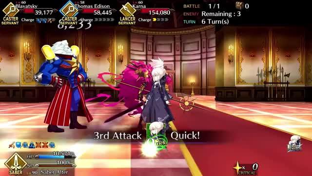 Fate/Grand Order] Napoleon's Noble Phantasm GIF   Find, Make