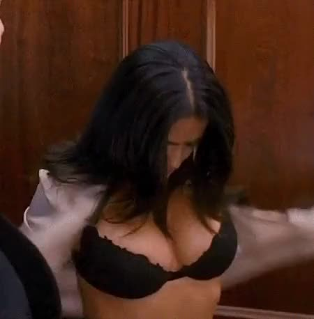 Watch and share Salma Hayek GIFs and Cleavage GIFs on Gfycat