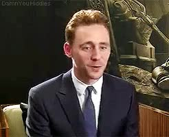 Watch and share Yes Yes You Are GIFs and Tom Hiddleston GIFs on Gfycat