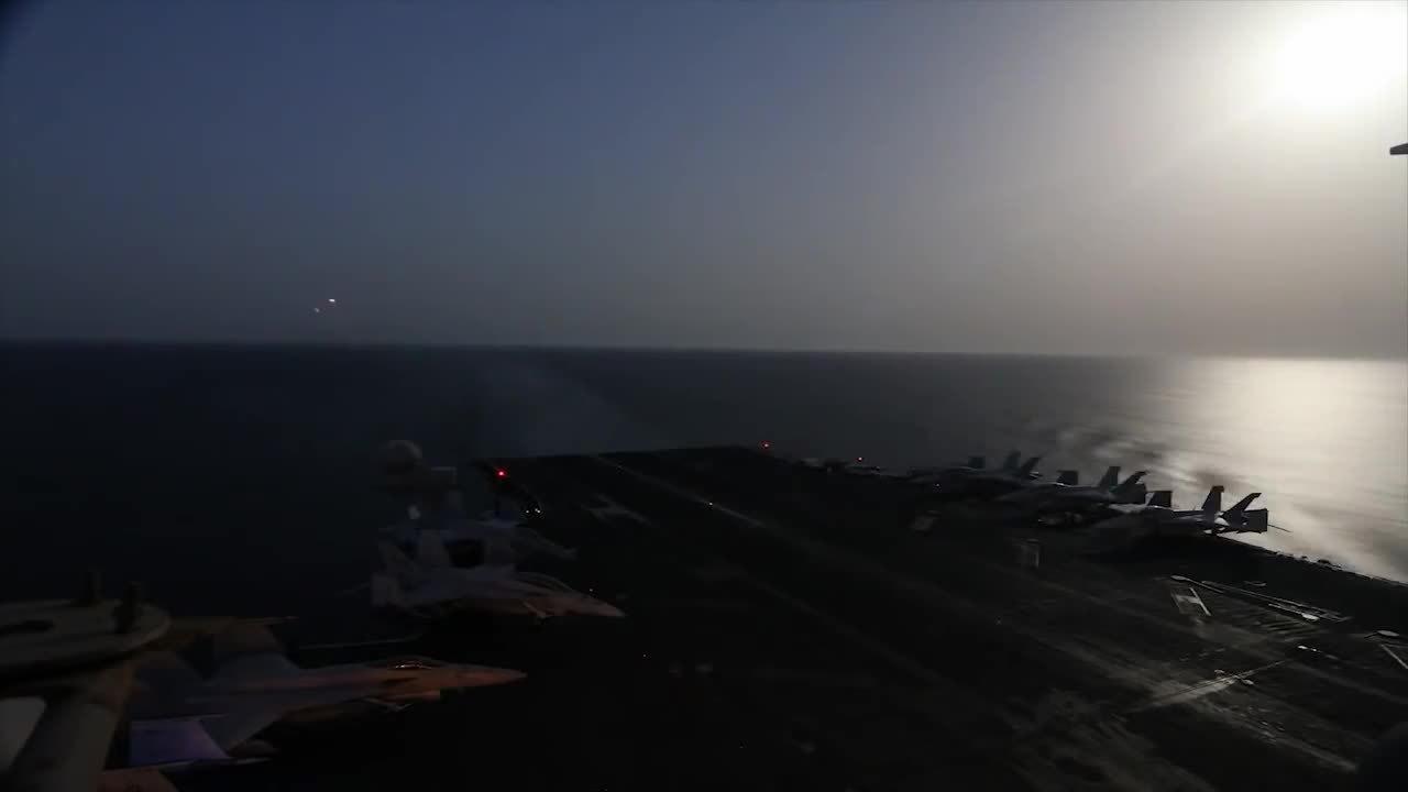 WarplaneGfys, warplanegfys, Time lapsed carrier landings. (reddit) GIFs