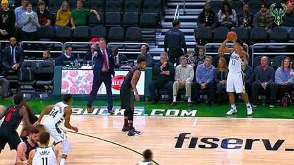 Watch Giannis Antetokounmpo — Milwaukee Bucks GIF by Off-Hand (@off-hand) on Gfycat. Discover more 112118 GIFs on Gfycat