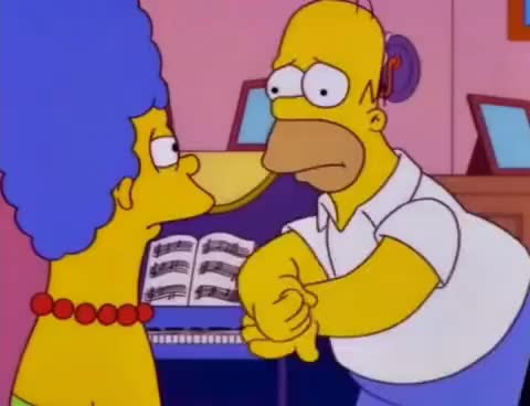Watch and share Con Un Sello Marge GIFs on Gfycat