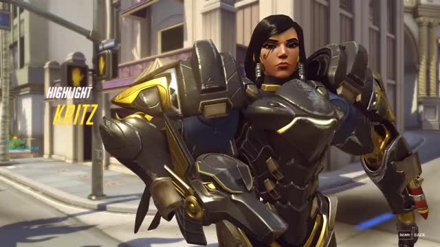 Watch and share Overwatch GIFs and Pharah GIFs by kritzuu on Gfycat