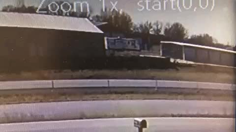 My security camera caught a fatal accident right outside my house. by [deleted] in WTF