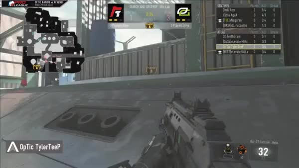 Watch and share Revenge Vs ON - Defending A Planted Bomb And Being Unpredictable (reddit) GIFs on Gfycat