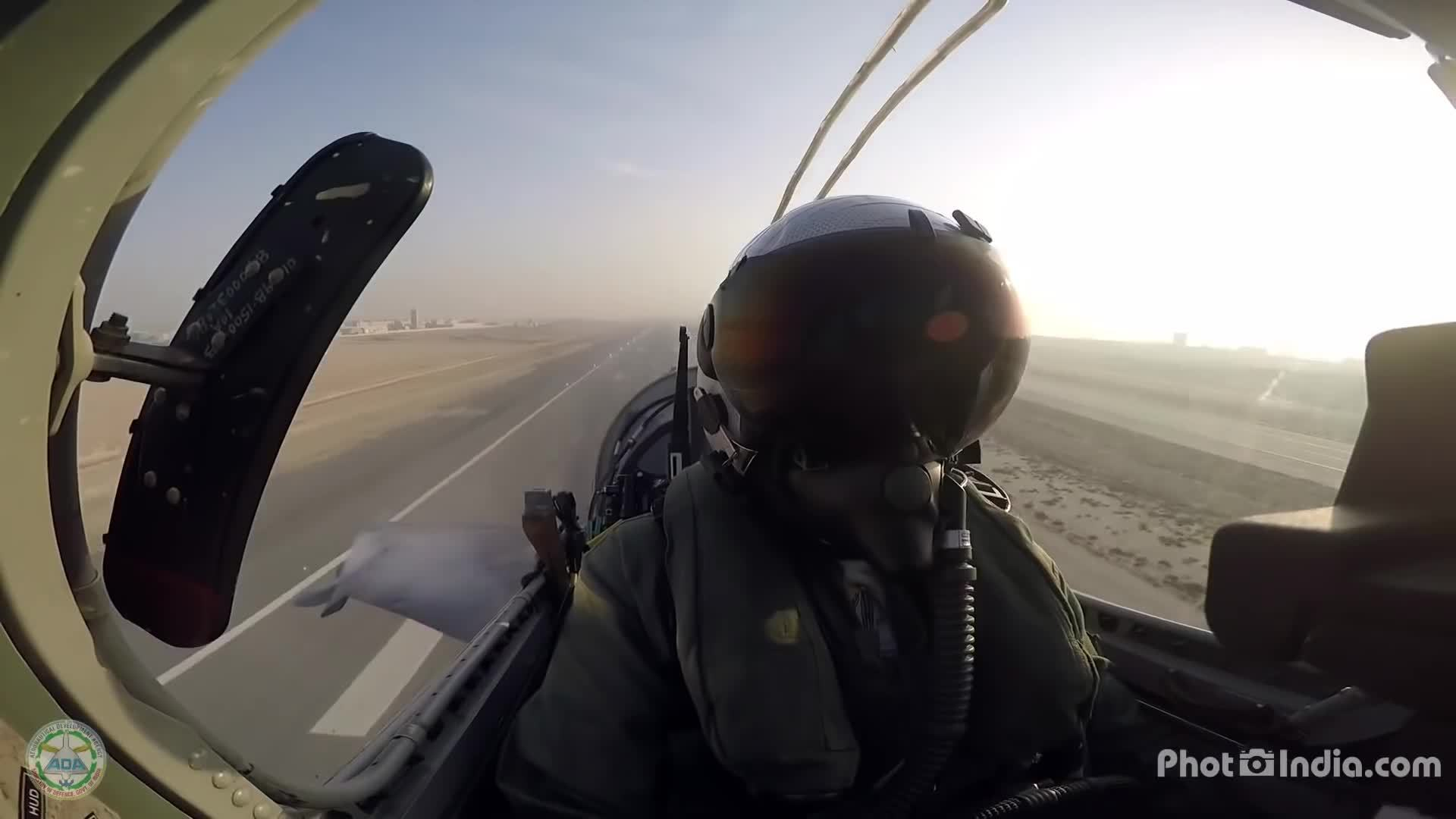 militarygfys, LCA Tejas At Bahrain - Stunning GoPro From Cockpit GIFs