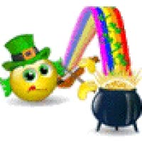 Watch and share St Patricks Day Pot Of Gold Leprechaun Rainbow St Patricks Day Car Leprechaun Small Oktoberfest German Germany Deutshland Smiley Smilie Smil GIFs on Gfycat