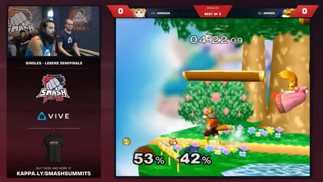 Armada vs. Mang0 @ Smash Summit 5