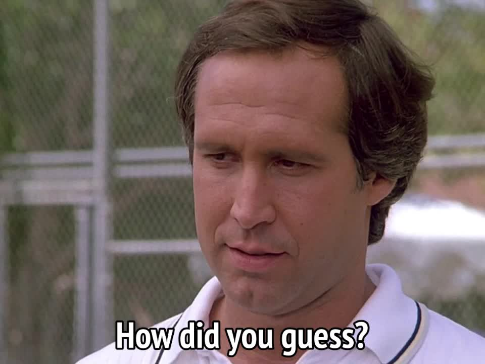 chevy chase, fletch, Fletch - How did you guess GIFs