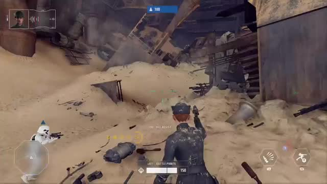 Watch this GIF by Xbox DVR (@xboxdvr) on Gfycat. Discover more Rogue Dakotan, STARWARSBattlefrontII, xbox, xbox dvr, xbox one GIFs on Gfycat
