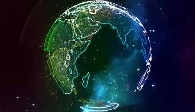 """Watch and share Rainbow Earth Visualizer - (""""Wave Dash"""" - Chris Poirier - Ninety9Lives Release) GIFs on Gfycat"""