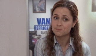 the office, wtf, Pam What The Hell The Office GIFs