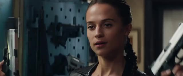 Watch and share Tomb Raider Movie GIFs and Alicia Vikander GIFs by Tomb Raider on Gfycat