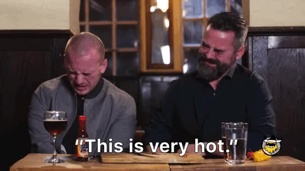 Watch and share The Carolina Reaper Challenge, With Chili Klaus And Sean Evans GIFs on Gfycat