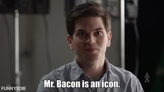 Watch and share Bacon GIFs by Funny Or Die on Gfycat