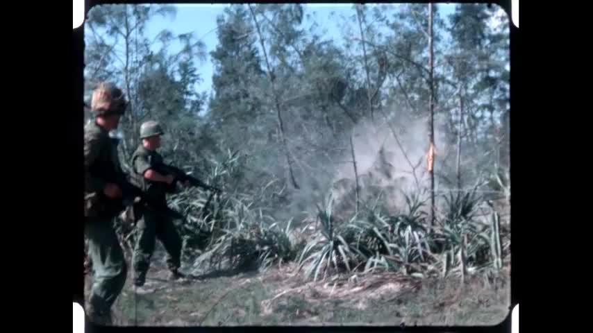 Vietnam Combat Footage Operations Badger Tooth And Green