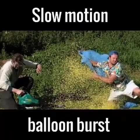 Watch and share Balloon Bursting In Reverse GIFs on Gfycat