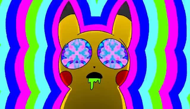 Watch pikachu on acid GIF on Gfycat. Discover more acid, pikachu, pokemon GIFs on Gfycat