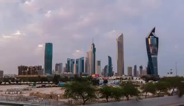 Watch Kuwait City TimeLapse | 4K UHD GIF on Gfycat. Discover more related GIFs on Gfycat