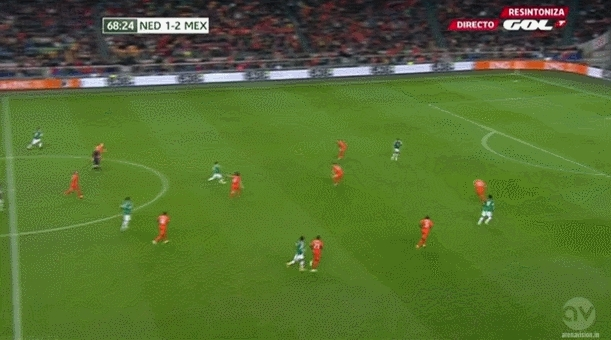 realmadrid, soccer, Chicharito scores vs Holland to make it 3-1! (reddit) GIFs