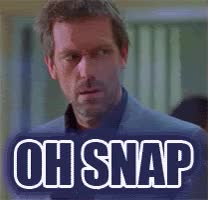 Watch this oh snap GIF by Reaction GIFs (@sypher0115) on Gfycat. Discover more Hugh Laurie, damn, ohshit, ohsnap GIFs on Gfycat