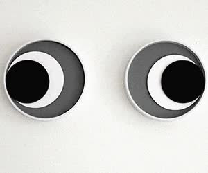 Watch and share Googly Eyes Clock GIFs on Gfycat