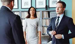 Watch dont cry.mp3 GIF on Gfycat. Discover more donna paulsen, harvey specter, jessica pearson, louis litt, mike ross, mine: suits, my gifs, pearsen specter is a familY!, rachel zane, suits, suits usa GIFs on Gfycat
